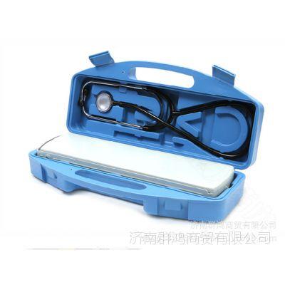 鱼跃水银血压计+听诊器保健盒A型医用臂式 精准测量仪器正品保证