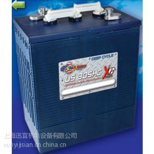 供应驾驶式洗地机电瓶 美国US 305HCXC蓄电池