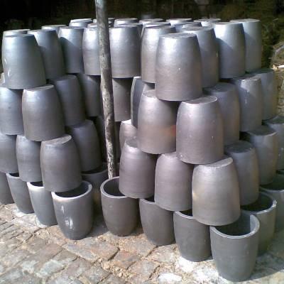 供应500kg熔铜石墨坩埚
