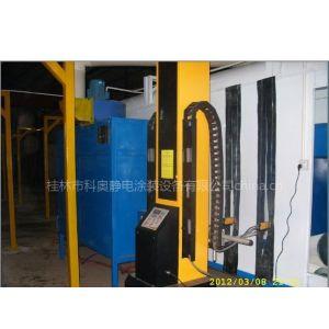供应自动喷粉涂装线自动喷粉室流水线