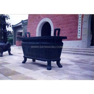 供应铜鼎铜塔铜香炉铸造