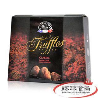 法国 德菲丝松露形式代可可脂巧克力200g*24盒/箱 8个口味