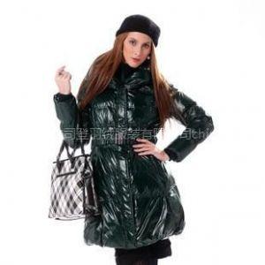 供应2010新款 波司登羽绒服 正品 亮面 女式盆领时尚中面包 BR1890s