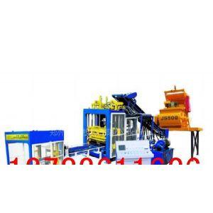 供应10-15大型全自动空心砌块砖机