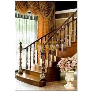 供应品聚楼梯 MOD.212实木楼梯 实木栏杆 实木立柱