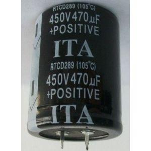 供应400V 470UF铝电解电容器 电解电容 电容器 焊接式铝电解电容现货供应