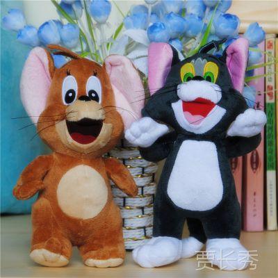 正品迪士尼毛绒玩具批发 猫和老鼠公仔汤姆杰瑞 情人节礼物供淘宝