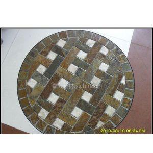供应星子文化石石材,马赛克餐桌