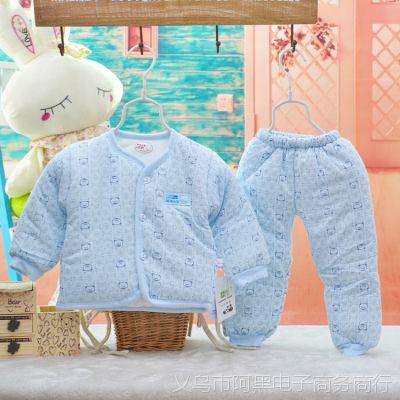 外贸童棉衣 韩版婴幼儿棉衣清仓 婴儿加厚棉袄 宝宝保暖棉服