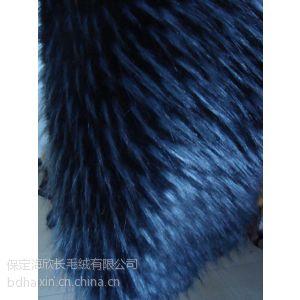 保定海欣腈纶1400g3D提花点子毛领子毛