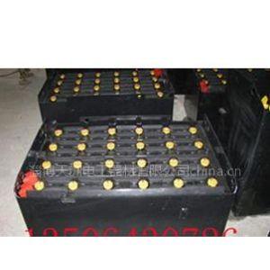 供应杭州电瓶40-480R叉车电池配套火炬牌蓄电池