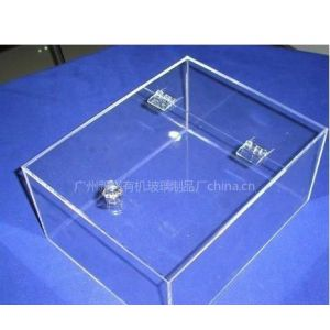 供应广州有机玻璃制品厂加工定做糖果饼干盒