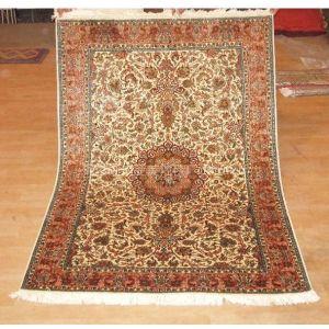 供应全手工真丝高级艺术地毯