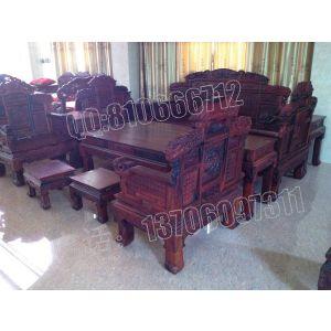 供应老挝大红酸枝沙发,福字沙发,交趾黄檀沙发,老红木沙发,大红酸枝沙发价格