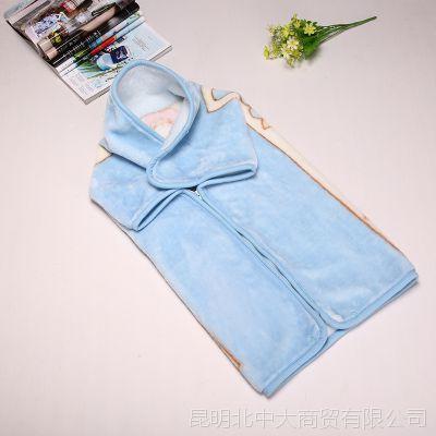 厂家直销 婴儿抱被 新生儿秋冬抱被加厚婴儿包被纯棉冬款