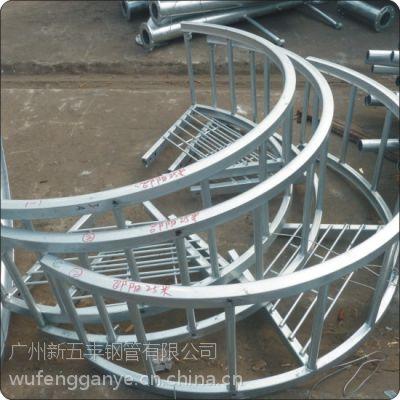 供应厂家提供 热镀锌 阳台 栅栏护栏 组装式阳台 建筑护栏钢材服务