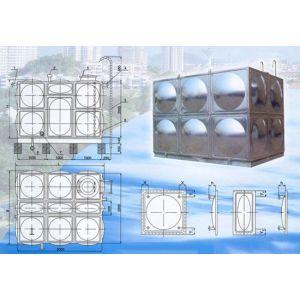 供应供应不锈钢组合式水箱,保温水箱
