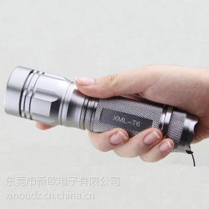 供应26650变焦手电筒
