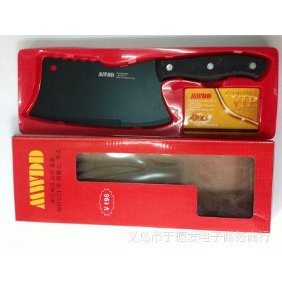 黑金刚刀、钨碳烤瓷刀、跑江湖砍钢管刀、厨用刀、会销礼品赠品
