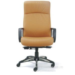 供应黑色西皮职员椅 深圳椅子厂家 简约干练的黑色椅子