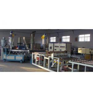 供应PVC共挤波浪板、彩色塑料复合瓦生产线