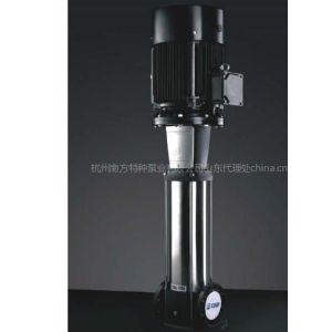 供应南方牌CDLF85-20立式多级离心泵,杭州南方特种泵山东,江苏销售经销