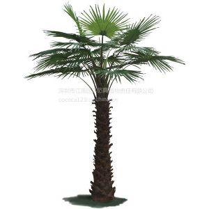 供应江南园艺仿真棕榈树 仿真绿雕 仿真草皮