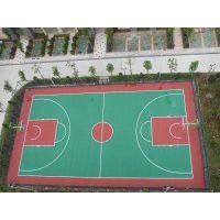 广州从化篮球场地坪/丙烯酸地坪漆/硅PU球场/施工 柏克品牌