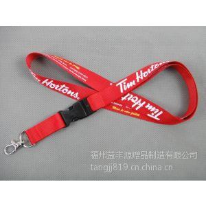 汕头厂牌挂绳工厂定做热转印胸牌挂绳 上海手机挂绳工厂直销