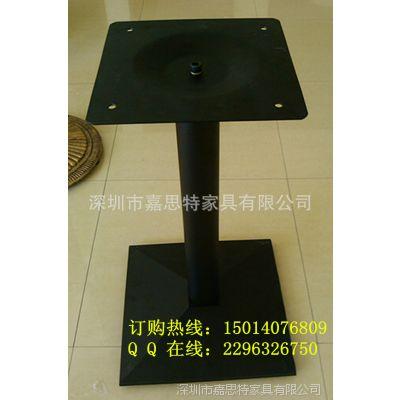 广东厂家批发家具配件五金 铸铁方形铸铁桌腿 餐台架