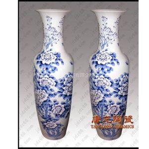 供应景德镇手绘釉上青花粉彩陶瓷大花瓶商务礼品陶瓷大花瓶