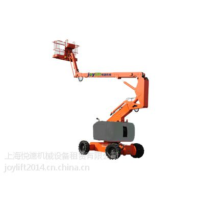 供应15米牵引式曲臂高空作业平台,柴油驱动曲臂高空车,升降平台