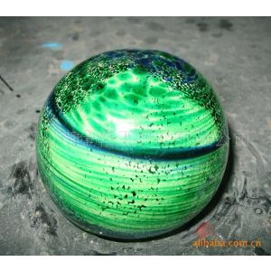 广东厂家专业定制夜光玻璃球 荧光玻璃球 亮光效果好 量大从优