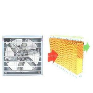 供应风机水帘通风降温系统排气扇,通风降温,湿帘片