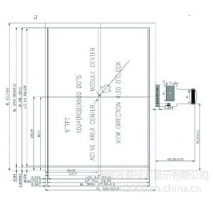 供应供应9寸TFT-LCD液晶显示屏(HW90F-0A-0B)
