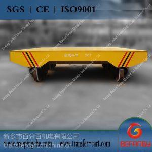 供应150T平衡重叉车轨道平板车 磨煤机铸件电动平板车