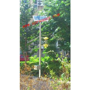 供应北京春旭阳光牌太阳能杀虫灯,适合果园、农田、小区、大棚使用