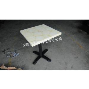 供应深圳、玉石高档快餐桌椅制造厂家