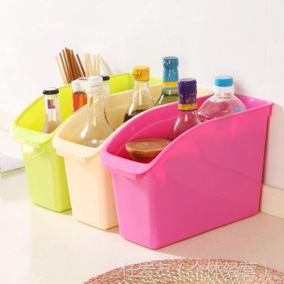 现货批发 塑料生活用品收纳盒 创意桌面文具收纳盒手机办公