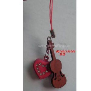 供应木吉他铃铛挂件,手机挂件
