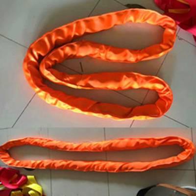供应大吨位合成纤维圆状吊装带