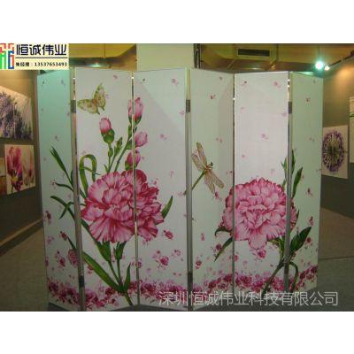 玻璃背景墙彩绘机 艺术玻璃移门衣柜门画uv浮雕数码彩色打印设备
