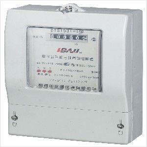 供应柳市供应全国DTS1531普通型三相三线电能表