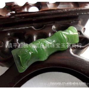 供应玉器 正品碧玉节节高升挂件 色泽圆润 玉石批发 ff-964