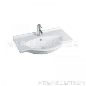 供应潮州卫浴厂家供应高级卫浴浴室柜洗脸盆,台盆,浴室柜台盆