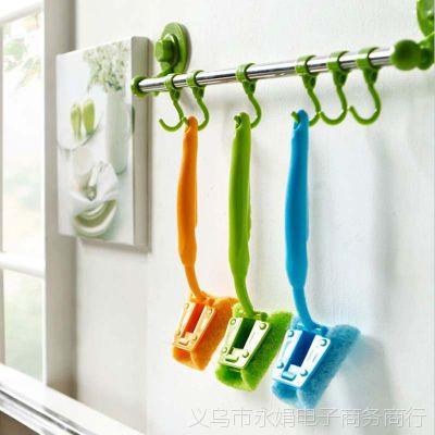 实用不伤手强力去污刷/带手柄清洁刷/洗碗刷/多功能除油垢刷子