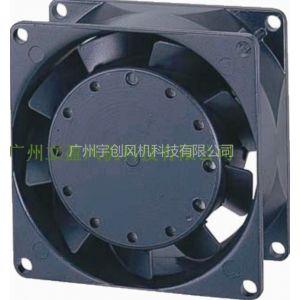 直销liying全金属散热风机8038小型铁叶风扇