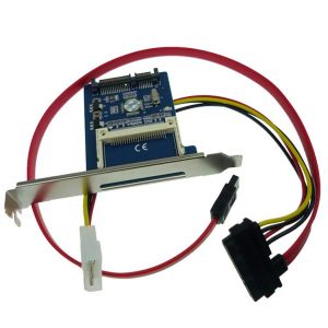 CF转2.5英寸SATA硬盘转接卡 带挡板 CF卡替代SATA硬盘