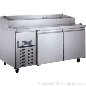 供应BS15L2F披萨冷藏柜 保鲜制冷设备 餐饮厨房设备 酒店制冷设备