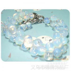 供应DS德儒饰品 蛋白石 天然宝石的夏天秘密  韩款时尚流行手链